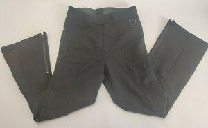 Vintage Schoeller Black Ski Pants Black Mens 32x29 Regular Made in USA