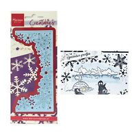 Snowflake Border Metal Die Cut Marianne Cutting Dies LR0498 Winter Christmas