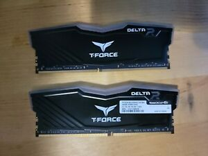 TEAMGROUP T-Force Delta RGB DDR4 32GB (2x16GB) 3200MHz CL16 Desktop