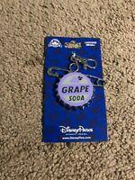 Disney Parks Grape Soda Cap UP Pixar Lanyard Medal Pin Trading - NEW