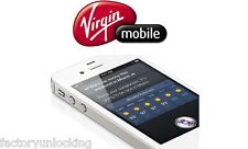 UNLOCK VIRGIN UK iPhone 7 SE 6+ 6 5S 5C 5 4S Official Unlocking CLEAN IMEI ONLY