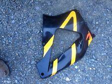 2000-2001 honda cbr 929rr mid fairing plastic black yellow