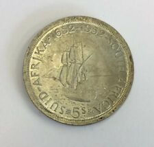 South Africa 1952 Silver 5 Shillings Crown Coin