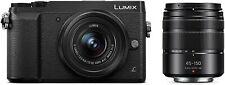 New! Panasonic LUMIX GX85 16MP Digital Camera12-32mm,45-150mm Lens Bundle