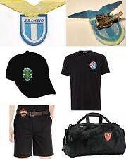 Italy Lazio soccer football club team patch clip pin brooch emblem holder