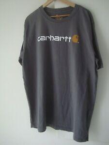 """Lovely Mens CARHARTT T Shirt Size XL (46"""" Chest)"""