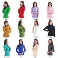 Ladies Moda/Net Undershirt Muslim T Shirt Islamic Women's Long Sleeve Top Blouse
