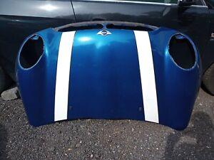 Mini Cooper R50 R53 2001 - 2006 Bonnet Panel Hyper Blue A28