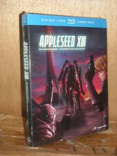 Appleseed XIII: Complete Series Collection (Blu-ray/DVD, 2013, 4-Disc Set) anime