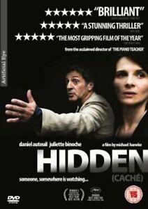 Cache (Hidden) - Juliette Binoche, Michael Hanek (director of THE PIANO Teacher)