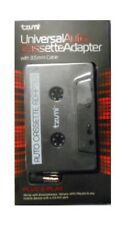 Tzumi 3354 B Plug/Play Audio Cassette Adapter for Phones, Tablets, Mp3 Players