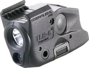 Streamlight Tlr-6 Rail Glock - Led Light-red Laser