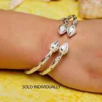 150 West Indian Bangle with Cocoa Pods in 925 Sterling Silver -Sold Individually