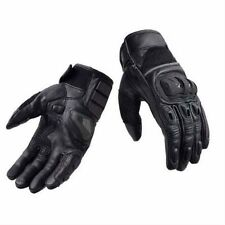 MEN MOTORCYCLE BIKER RIDING 100% COW LEATHER SM-AIRING GLOVES