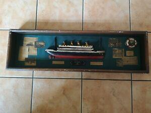 Historic Titanic 1912 Ships Model Memorabilia Diorama