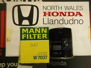 MANN W7037 Oil Filter