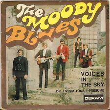 "THE MOODY BLUES ""VOICES IN THE SKY"" SP 1968 DERAM 17.014"