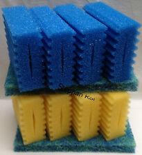 8 x Filterschwamm + 2 x Biomatte  für SunSun CBF 350 B  Filter Osaga Atlantis