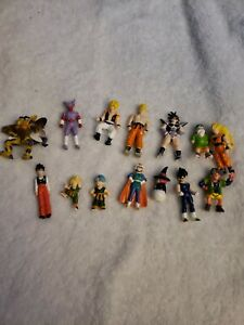 Dragonball Z Action Figure Irwin B.S/S.T.A Toy Lot Of 10 Mini Figures