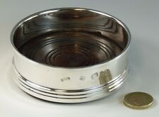 """Vintage Broadway - Solid Silver - Straight Sided Coaster - 3 5/8"""""""