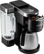 Keurig - K-Duo Plus 12-Cup Coffee Maker and Single Serve K-Cup Brewer - Black