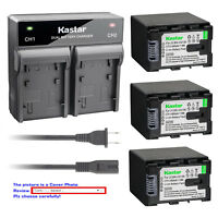 Kastar Battery Rapid Charger for JVC BNVG138 JVC Everio GZ-MS240 Everio GZ-MS250