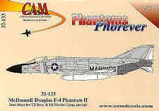 CAM 1/32 McDonnell F-4 Data Sheet # 32133