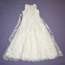 Organza Shimmering Children Dress 152 Flower Girl Communion Gala Dress
