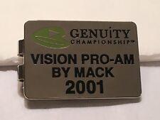 Rare 2001 Genuity Championship Doral Open Money Clip - A Beauty!