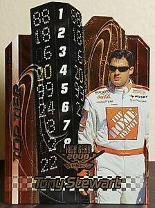 Tony Stewart 2000 Wheels High Gear Top Tier #TT5 Insert (#20 Home Depot Pontiac)
