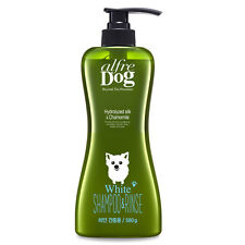 Pet Dog Cat Alfre Dog Bright Whitening Shampoo For White Hair Dog Grooming 580ml