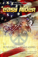 """Easy Rider - (24""""x36"""") Movie Poster - Free S/H"""