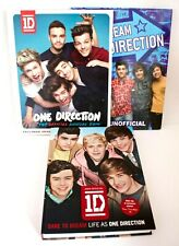 ONE DIRECTION Book collection (3 Books) 2 x Official 1 x Unofficial (VGC)