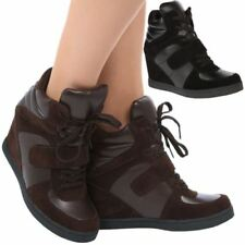 Wedge Lace Up Gym & Training Shoes for Women
