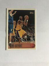 1996 Kobe Bryant Topps Rookie Card #138