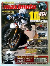 MAXIMOTO du n°97; Yamaha FZ 8/ Ducati Monster 796/ Honda VFR 1200F DCT/ Aprilia