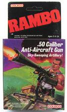 Rambo .50 Caliber Anti-Aircraft Gun Vintage 1985 MISB COLECO