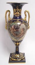 Porzellan-Antiquitäten & -Kunst als Vase mit Engel-Motiv
