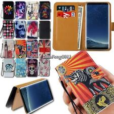 For Samsung Galaxy Note 1 2 3 4 5 7 9 10 Flip Leather Wallet Stand Phone Case