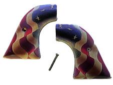 Fits Ruger Wrangler GRIPS .22 model Betsy Ross US flag NEW