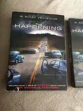 The Happening (DVD) W. Slip Cover ~Mark Wahlberg ~Free Shipping