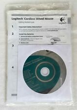 CD Logitech MouseWare - 9.1 Windows, M 3.5 USB Mac OS, Handbuch, Manual