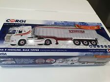 RARE 1/50 SCALE CORGI SCANIA R HIGHLINE BULK TIPPER