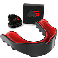 -AG Professional Gel Boxing Gum Shield & Mouth Guard MMA Rugby Mouthpiece Teeth