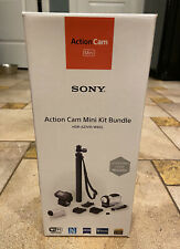 *New, Open Box* Sony Action Cam Mini Kit Bundle Hdr-Az1Vr/Wbdl Camcorder White