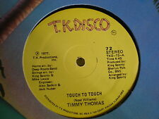 """Timmy Thomas 12""""  Touch To Touch"""
