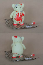 "Frank Kozik SIGNED Toy2R '08 Taipei Toy Festival 8"" Glow In Dark Redrum Dr. Bomb"