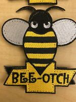 morale patch hook and loop, Transformers, Bumble Bee,