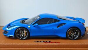 1:18 BBR Ferrari 488 Pista Azzurro Dino Limited Edition Of 5 Pcs