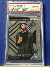 Marvin Bagley III - 2018 Panini Prizm Luck of the Lottery PSA 10